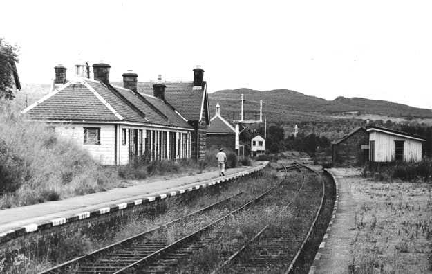 Photograph of Boat of Garten station in 1971